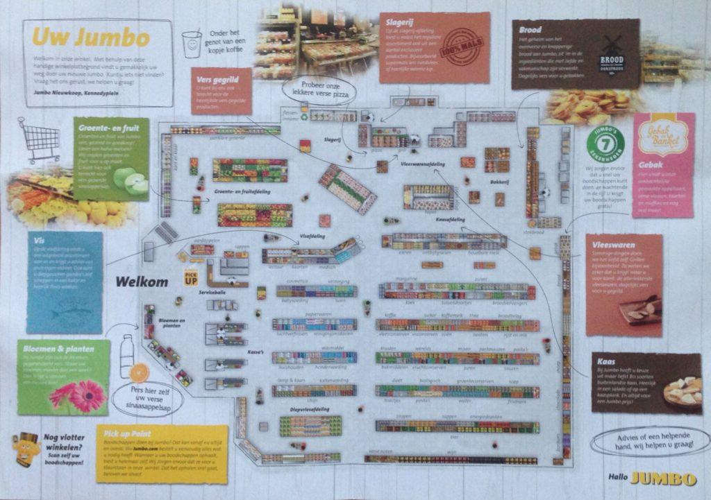 plattegrond nieuwe jumbo