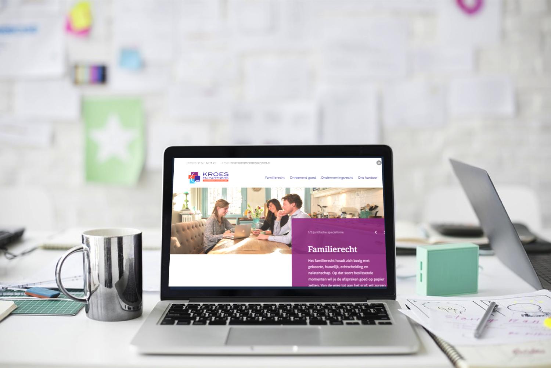 nieuwe website kroes en partners
