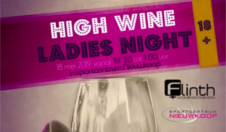 high wine ladies night