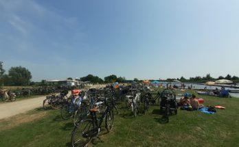 fiets strand zomer nieuwkoop