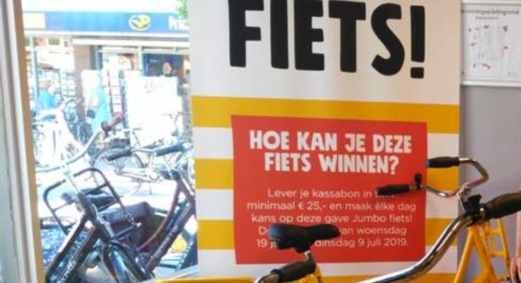 jumbo nieuwkoop bas bobeldijk fiets