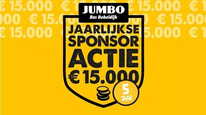 jumbo nieuwkoop sponsoractie