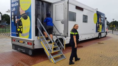politie kaag en braassem mobile media lab