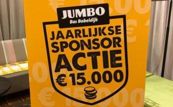 jumbo sponsoractie uitslag