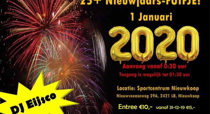 nieuwjaarsfuifje sportcentrum nieuwkoop