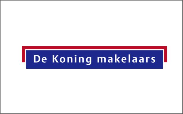 de koning makelaars nieuwkoop logo