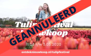 tulip festival nieuwkoop coronavirus geannuleerd