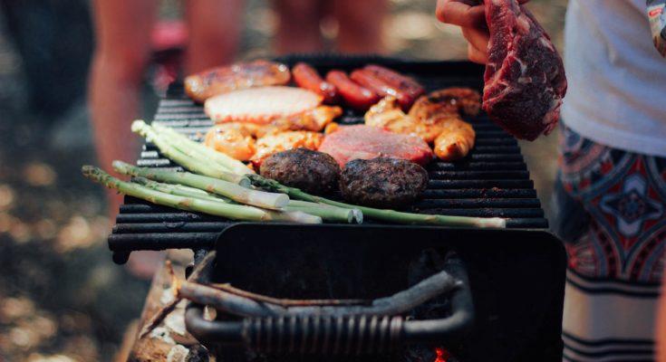 barbecuepakket strand zomer