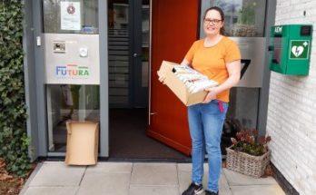 bibliotheek rijn en venen doneert coronavirus