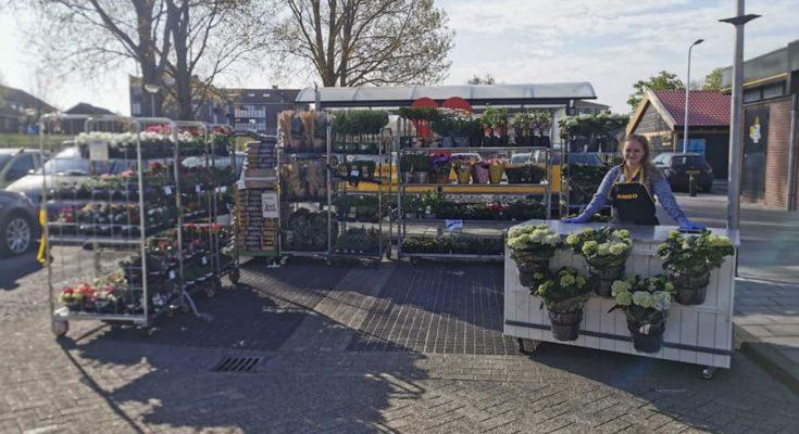 tuinmarkt bij jumbo nieuwkoop