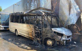 brand taxi van der laan nieuwkoop