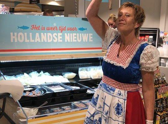 hollandse nieuwe bij jumbo nieuwkoop