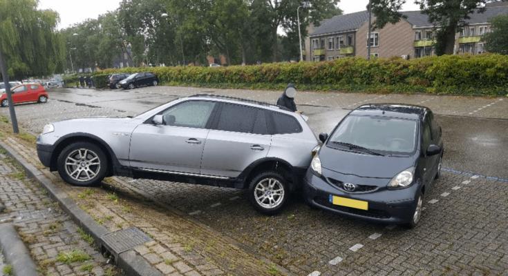 auto parkeerdek albert heijn nieuwkoop