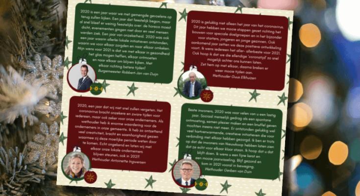 kerstwens gemeente nieuwkoop